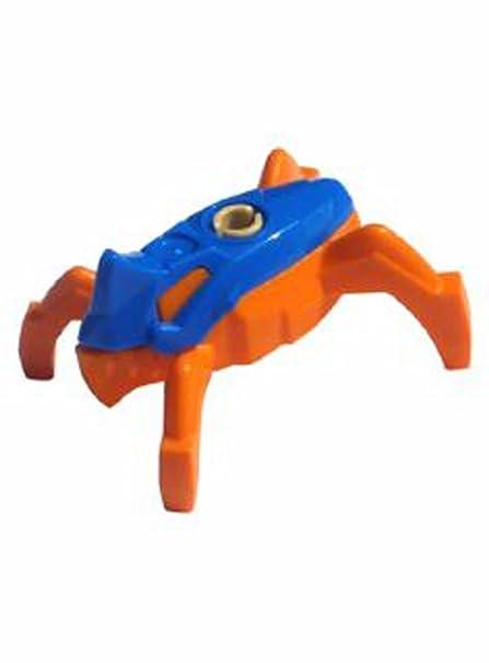 Amazoncom Lego Minifigure Hero Factory Jumper Blue Top Orange