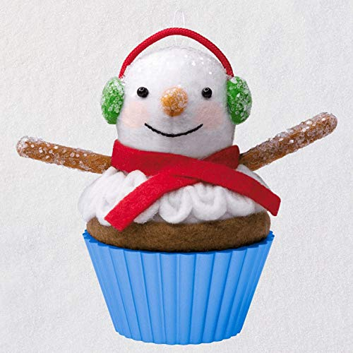 Hallmark Christmas Cupcakes That's Snow Sweet! Special Edition Ornament Snowmen