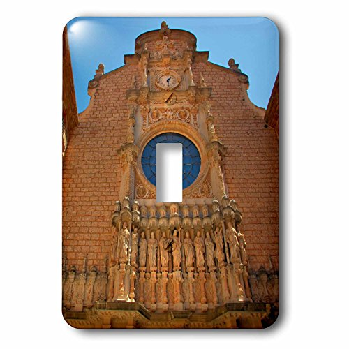 3dRose lsp_208472_1 Montserrat Monastery, Catalonia, Spain. - Single Toggle Switch by 3dRose