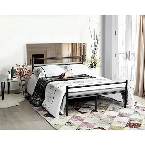 Review Green Forest Metal Bed
