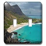 3dRose LSP_230707_2 USA, Hawaii, Oahu, Makapuu Beach Toggle Switch, Mixed