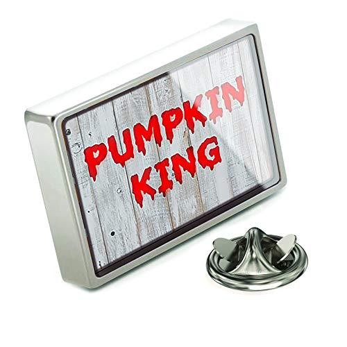 NEONBLOND Lapel Pin Pumpkin King Halloween Bloody Wall