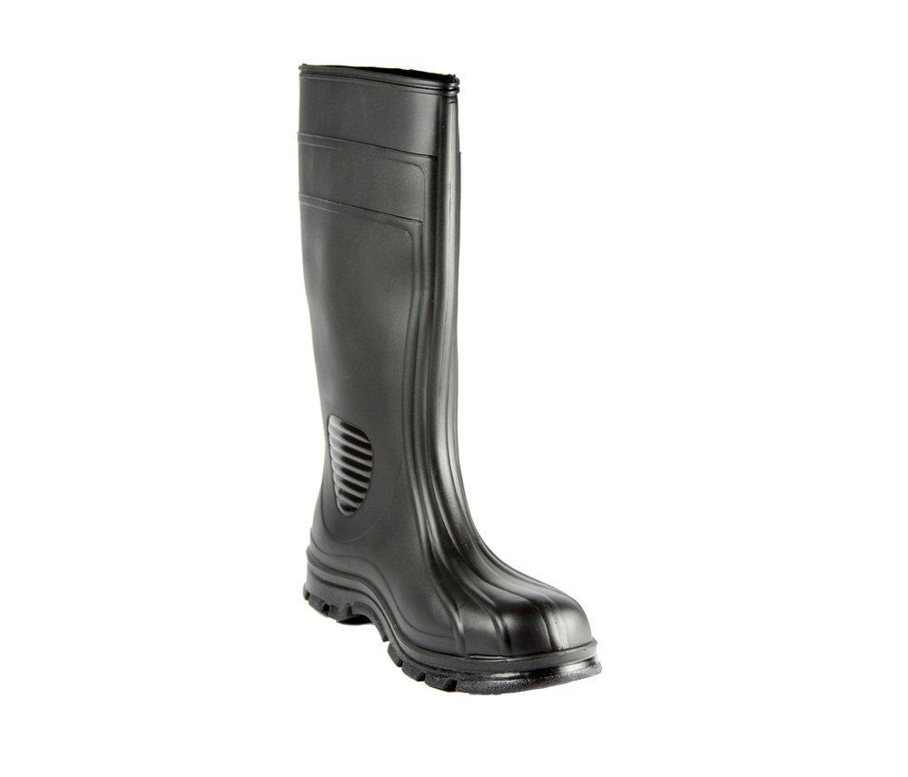 Heartland Footwear 70666-05 15-Inch Economy Steel Toe, Black