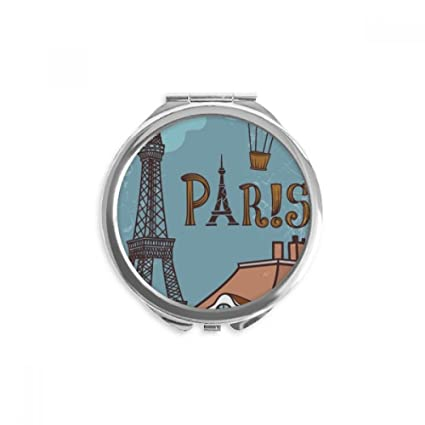 DIYthinker Paris fuego Balón de Francia Torre Eiffel espejo ...