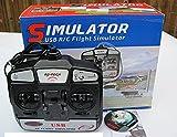 Dynam 6CH 6-Channel FMS USB RC Flight Simulator DYU-1002 Mode 2 Left Throttle