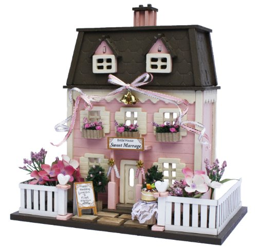 Billy Handmade dollhouse kit The Woody house collection Wedding house 8815 by Billy 55