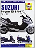 Suzuki AN250 & 400 Burgman Service and Repair Manual: 1998 to 2010 (Haynes Service and Repair Manuals) of Mather, Phil on 30 November 2011