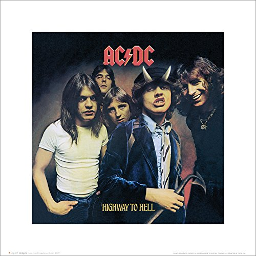 (Beyond The Wall AC/DC Highway to Hell Album Cover Hard Rock Music Icons Poster Print 16 by)