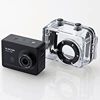 ELECOM Action Camera (Full HD) ACAM-F01SBK