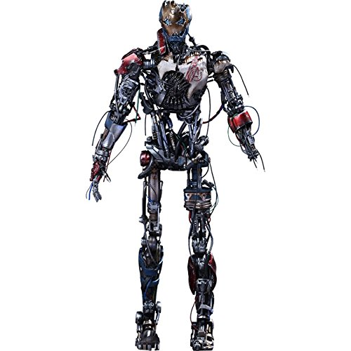 Download Hot Toys Movie Masterpiece Ultron Mark 1 Avengers Age of Ultron 1/6 Sixth Scale Acion Figure