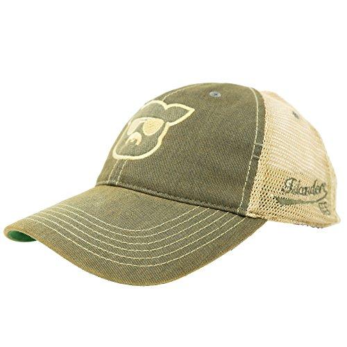 Islanders Vintage Legacy Old Favorite Pig Face Trucker Hat, Grey, One Size