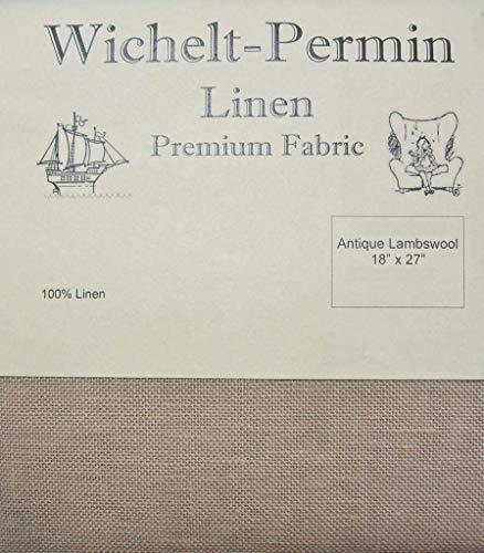 - Wichelt Permin Premium Linen Cross Stitch Fabric 18