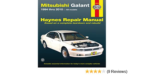 mitsubishi galant 1994 thru 2010 haynes repair manual john haynes rh amazon com mitsubishi galant manual transmission for sale mitsubishi galant manual for sale