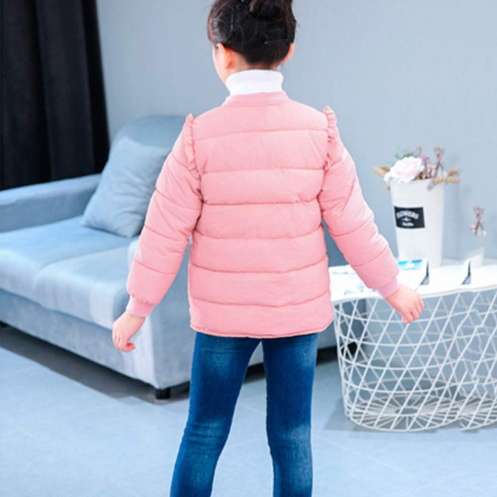 Sothread Kids Baby Girls Boys Winter Coat Cloak Solid Jacket Thick Warm Outerwear Clothes for 1-5 Years