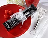 72 Stainless-steel ''Whisked Away'' Heart Whisks