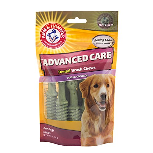 Arm and Hammer Advance Care Dental Brush Chews Tartar Control with Baking Soda and Mint Flavor -
