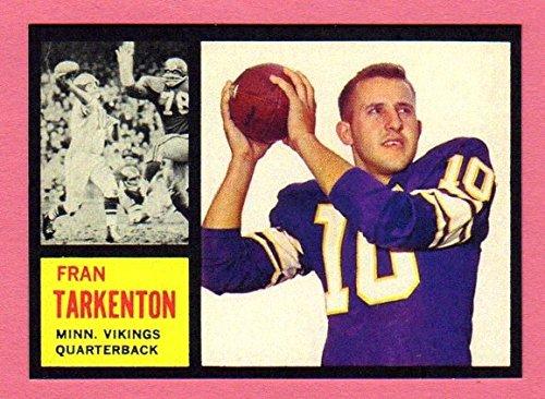 2005 Baseball Hall Of Fame (Fran Tarkenton 1962 Rookie Reprint**Hall of Fame** (Vikings))