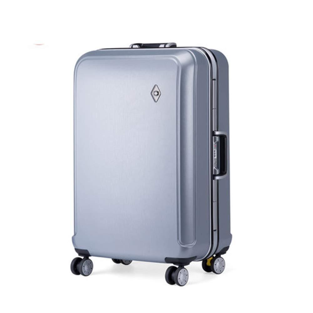 スーツケース - 荷物ボックスのパスワードアルミフレーム荷物ユニバーサルホイールトロリーケース搭乗スーツケース - スーツケース HARDY-YI 6544 (サイズ さいず : 24 inches) B07RQSSB87  24 inches