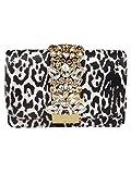 Luxury Fashion | Gedebe Womens CLICKYLEOWHITE White Clutch | Fall Winter 19