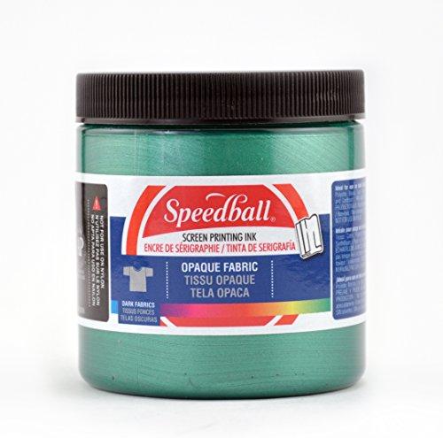 Speedball Opaque Fabric Screen Printing Ink - Emerald 8OZ