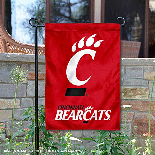 University of Cincinnati Garden Flag and Yard Banner