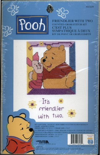 Walt Disney - Winnie the Pooh Counted Cross Stitch Kit - Fri