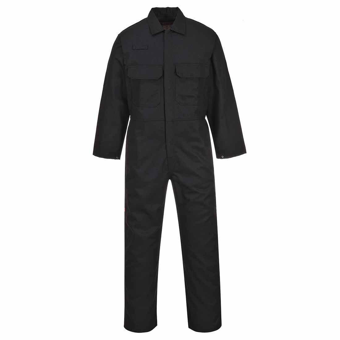 Portwest BIZ1 BizWeld boilersuit talla Medium color BlackT