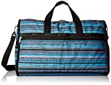 LeSportsac Classic Large Weekender, sea Stripe Blue