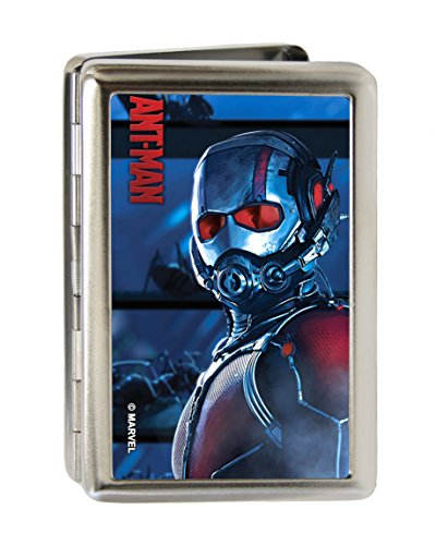 MARVEL UNIVERSE Business Card Holder - LARGE - ANT-MAN Standing Pose/Ants FCG Blues/Black/Red