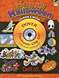 Happy Halloween CD-ROM and Book (Dover Electronic Clip Art)