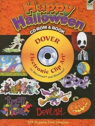 Happy Halloween Clip Art (Happy Halloween CD-ROM and Book (Dover Electronic Clip)