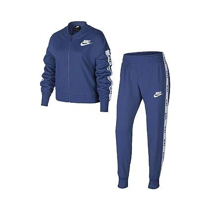 Nike Sportswear Chándal, Niñas, Mystic Navy/White/Mystic Navy ...