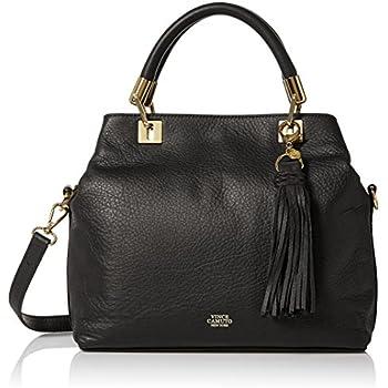Vince Camuto Elva Satchel Black Handbags Amazon Com