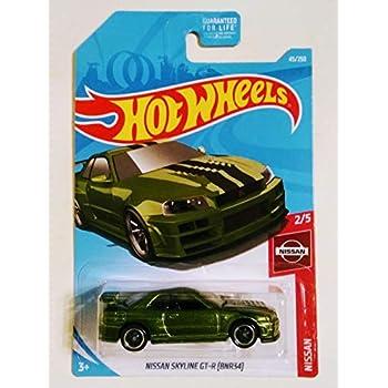 Amazon Com Hot Wheels 2019 Nissan 1 5 Nissan Skyline Gt R Bcnr33