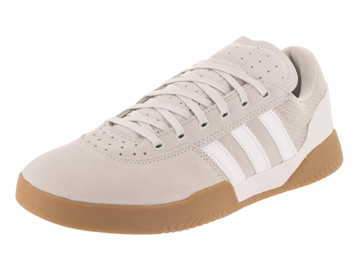 734aeda103b3d3 Galleon - Adidas City Cup (Crystal White Chalk Pearl Gum) Men s Skate Shoes -10.5