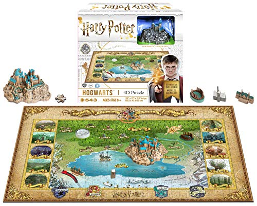 4D Cityscape Mini Harry Potter Hogwarts 3D Time Puzzle ()