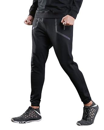 Chándal de Hombres Pantalones Casuales Running Pantalón Deportes ...