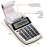 Victor 1205-4 12 Digit Portable Palm/Desktop