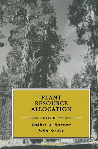 Plant Resource Allocation (Physiological Ecology) Pdf