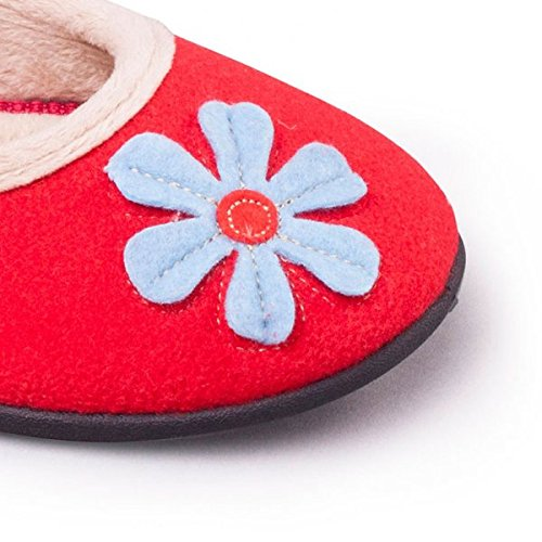 Rosso Pantofole Padders rosso Padders Donna Pantofole vIfPz
