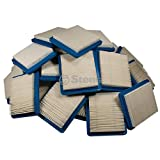 Stens 100-988 Briggs and Stratton 491588S Air Filter Shop Pack (Pack of 40)