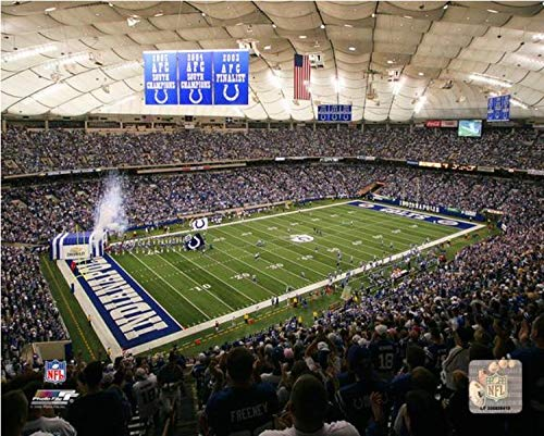 RCA Dome Indianapolis Colts Stadium Photo (Size: 16