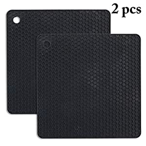 Justdolife 2PCS Trivet Pad Creativo Resistente Al Calor Hot ...