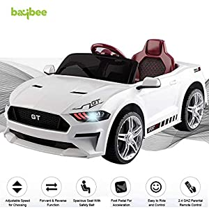 Baybee MASTANG GT Baby Toy Car Rechargeable Battery Operated Ride on car for Kids/Baby with R/C Jeep Children Car…