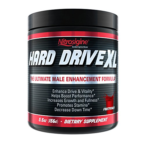 Hard Drive XL #1 Testosterone Booster l Nitric Oxide Supplement l Increase Blood Flow, Energy, Drive, Performance l 30 Day (Testosterone Nitric Oxide)