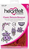 Heartfelt Creations Classic Petunia Bouquet 1.25'' to 4.25'' Cling Rubber Stamp