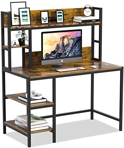 Best modern office desk: Bizzoelife Computer Writing Desk