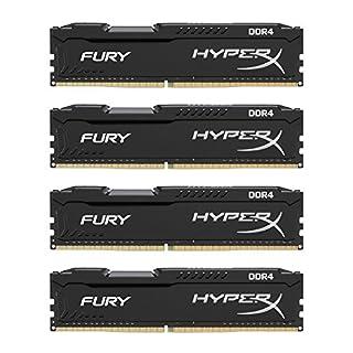 Kingston Technology HyperX FURY Black 16GB Kit (4x4GB) 2666MHz DDR4 Intel XMP Desktop Memory (HX426C15FBK4/16) (B00TPQPOIS) | Amazon price tracker / tracking, Amazon price history charts, Amazon price watches, Amazon price drop alerts