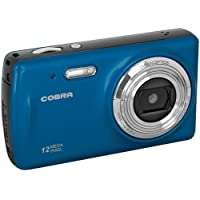 Cobra Digital Cobra 12.0 Megapixel Digital Camera - Blue DCA1250-BLUE