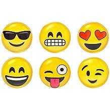 iDecoz More Emoji Home Button Sticker for iPhone iPad iPod (Emoji)